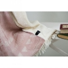 Плед микроплюш Barine Chalkboard Throw Pink 125x170 см