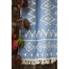 Плед-покрывало Barine Kilim Throw Blue 130x170 см