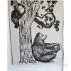 Плед шерстяной SoundSleep Bears 140x200 см