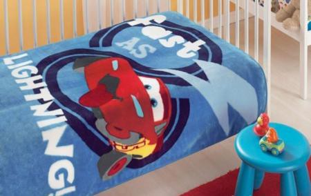 Плед TAC Disney Cars Baby 100х120 см.