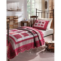 Покрывало Karaca Home Cherry Patchwork 180х260 см.
