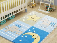 Коврик Confetti Sleepy blue 100х150 см