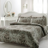 Постельное белье Tivolyo Home:  Royal (Gray) евро