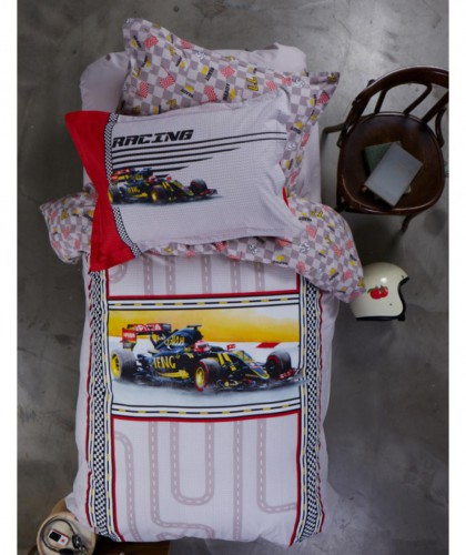 Karaca Home Racing red полуторный