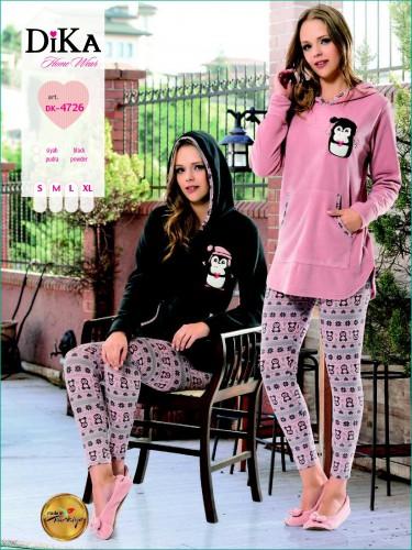Одежда для дома Комплект Dika кофта и лосины 4726  купить b77af0828e450