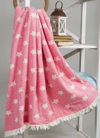 Плед микроплюш Barine Star Throw pembe 125x170 см