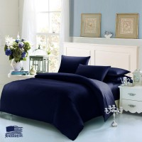 Jefferson Sateen Dark Blue Темно Синий евро