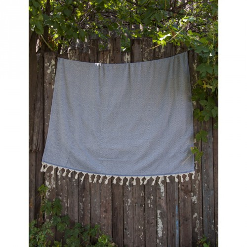 Плед-покрывало Barine Stream Throw Denim 135x180 см