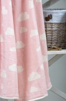 Плед - накидка Barine Cloud Throw Pink 130x170 см