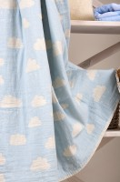 Плед - накидка Barine Cloud Throw Blue 130x170 см