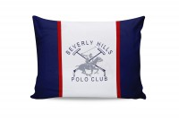 Набор наволочек Beverly Hills Polo Club BHPC 001 Dark Blue 50x70 см