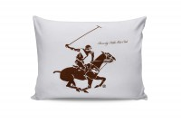 Набор наволочек Beverly Hills Polo Club BHPC 004 Brown 50x70 см