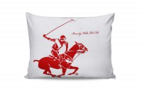 Набор наволочек Beverly Hills Polo Club BHPC 004 Red 50x70 см