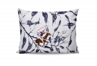 Набор наволочек Beverly Hills Polo Club BHPC 005 Blue 50x70 см